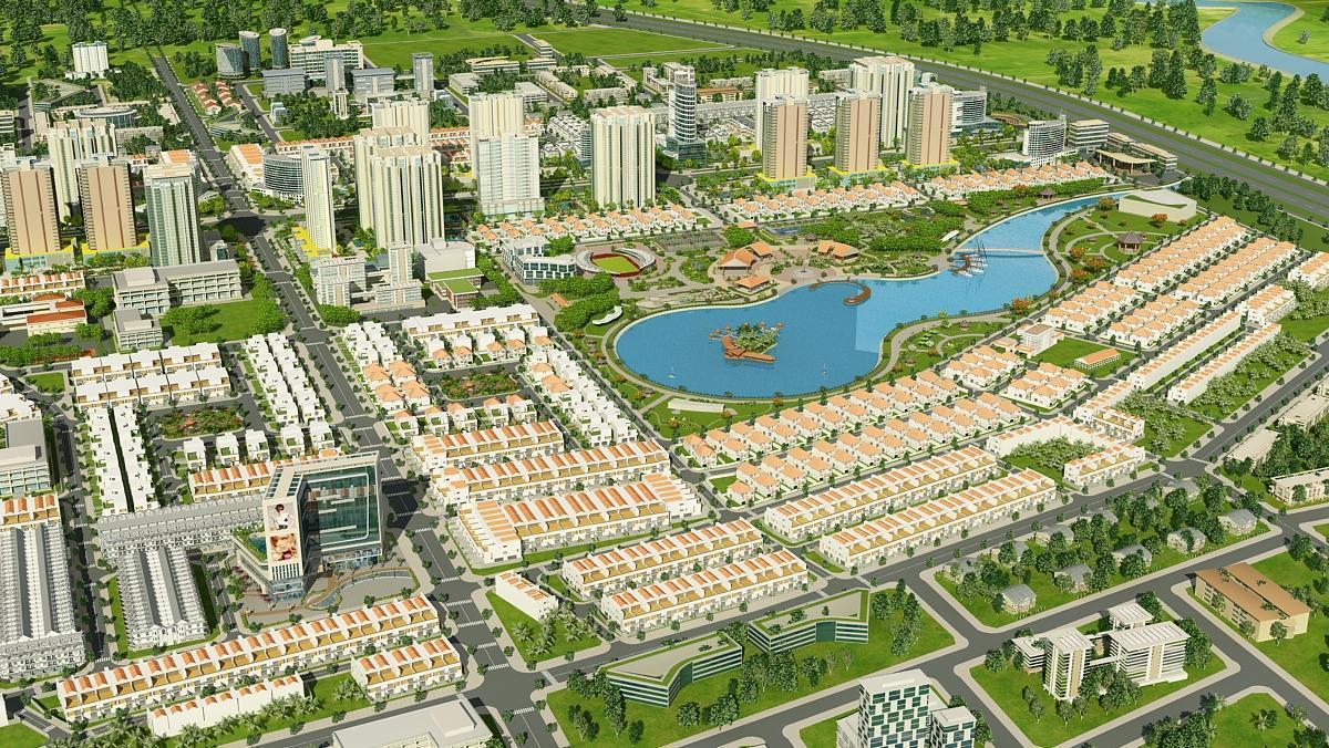 """khu dan cu dong tang long 02 - Bật mí vị trí """"vàng"""" của khu dân cư Đông Tăng Long Quận 9"""